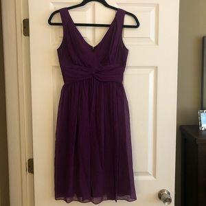 Purple Donna Morgan Dress